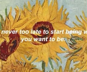 sunflower, quotes, and art image