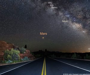 amazing, galaxy, and mars image