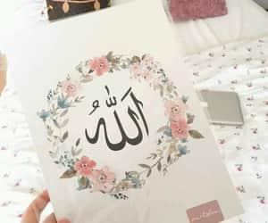 allah, arab, and muslim image