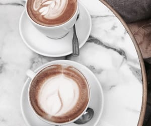 cappuccino, coffee, and fresh taste image