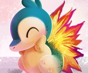pokemon, cyndaquill, and 2nd gen image