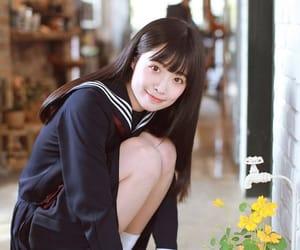 school uniform, sailor fuku, and schoolgirl image