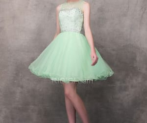 partydress, greendress, and clubdress image