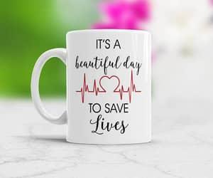coffee mug, etsy, and nursing image