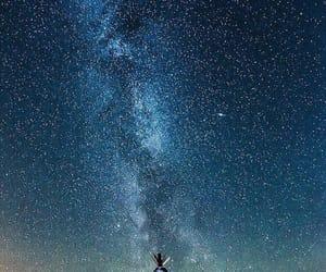 dark, galaxy, and glare image