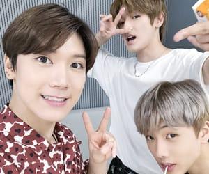 jisung, taeyong, and ten image