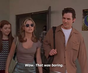 90s, relatable, and buffy image