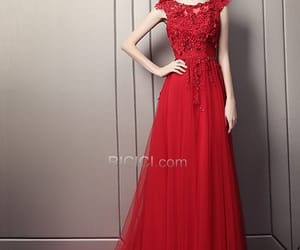 dress, fashion, and partydress image