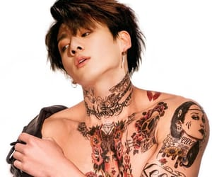 bts, jungkook, and tattoo image