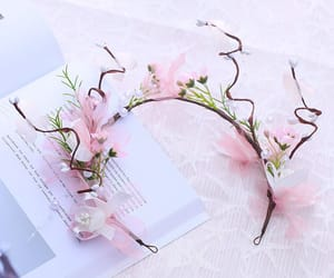accessories, flower, and pearl image