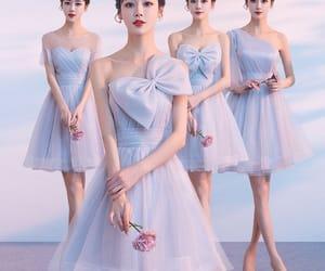 girl, short dress, and summer dress image