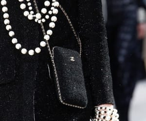 black, chanel, and inspo image