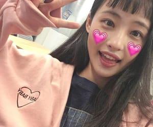 asian girl, pretty girl, and pretty asian girl image