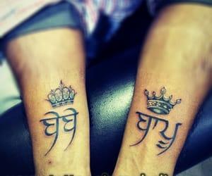mom dad tattoo design, maa paa tattoo designs, and maa tattoo in hindi image