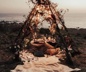 romantic, light, and beach image