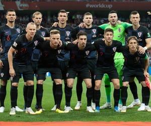 Croatia, world cup, and luka modric image