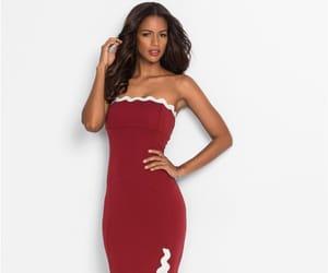 dress, luxurious, and fashion image