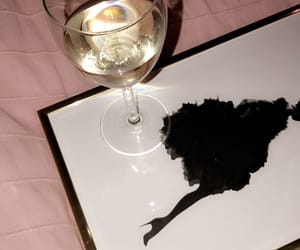 white wine, wine, and desenio image