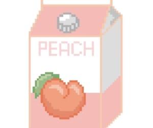 juice, orange, and peach image