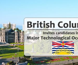 canada immigration, migrate to canada, and british columbia city image