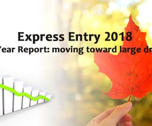 canada immigration, migrate to canada, and express entry 2018 image