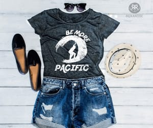 summer vacation, women t-shirt, and etsy image