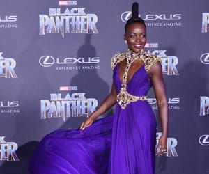 beautiful, cool, and black panther image