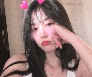aesthetic, choi sulli, and jinri icons image