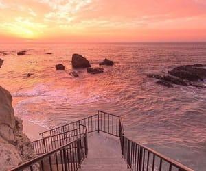 beautiful, beach, and ocean image