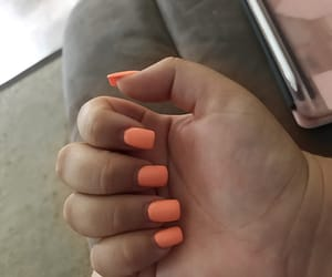 nails, summer, and summery image
