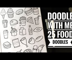 art, doodles, and video image