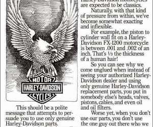 genuine, harley davidson, and motorcycles image