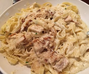 alfredo, Chicken, and food image