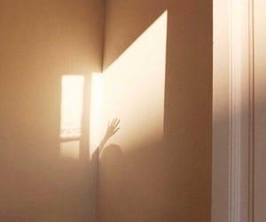 shadow, beige, and aesthetic image