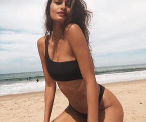 beach, instagram, and gizele oliveira image