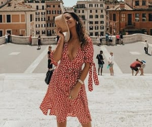 dress, fashion, and italy image