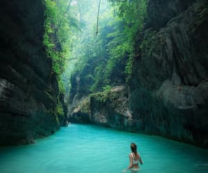 travel, nature, and blue image