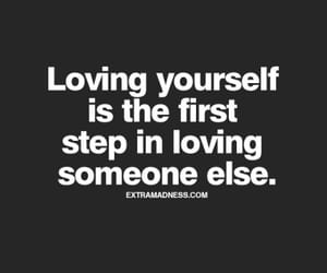 loving, yourself, and love image