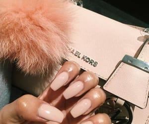 nails, Michael Kors, and bag image