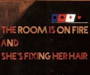 badass, fire, and girl image