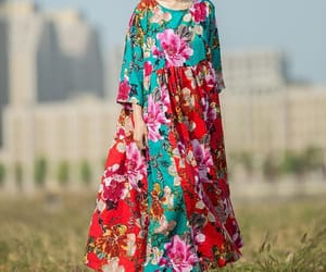 etsy, maxi dress, and women's dresses image
