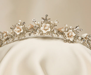 crown, flowers, and pretty image