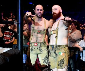 wwe, sheamus, and claudio castagnoli image