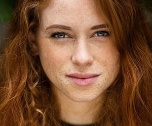 freckles and redhead image