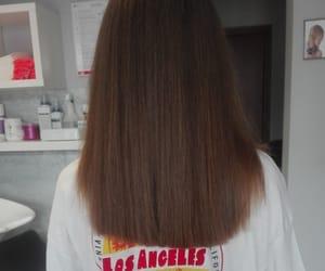 beautiful, brown hair, and cut image
