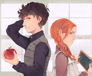 anne shirley, fanart, and gilbert and anne image