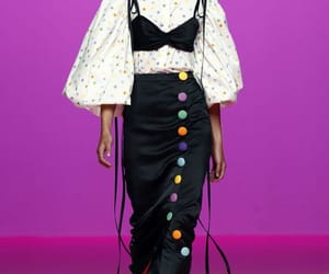 belleza, moda, and desfile image