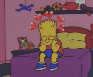 sad and the simpsons image