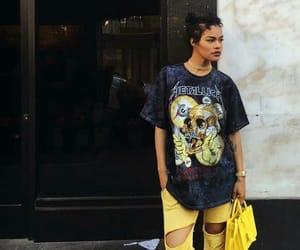 style, yellow, and teyana taylor image