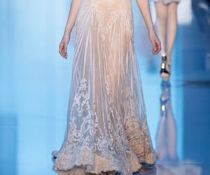 catwalk, haute couture, and elie saab image